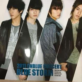 CNBLUE Bluestorm concert poster