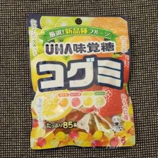 UHA味覺糖 新品種什果味軟糖
