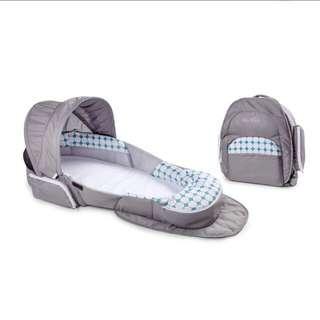 Snuggle Nest Traveler BL Infant Sleeper - Diamond Lattice