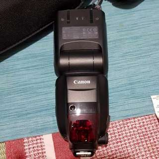 Canon 600ex-rt speedlite complete