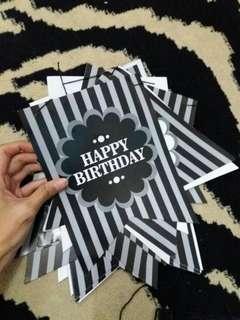 tulisan happy birthday