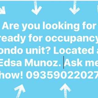 Condo along Edsa Munoz