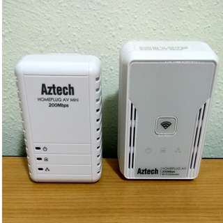 Homeplug for internet at remote corner of home without wire mess