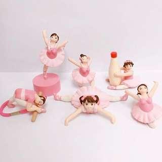 🚚 胖胖芭蕾粉色雙馬尾女孩 杯緣子 隱藏版超萌💕