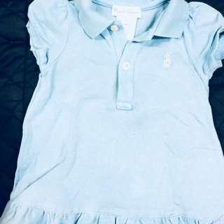 Ralph Lauren blue blouse