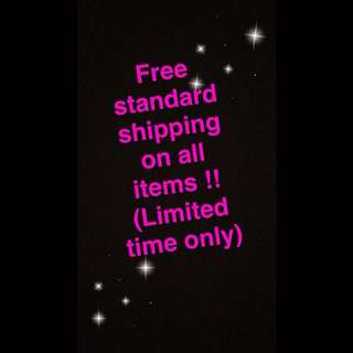 Free Standard Shipping !!