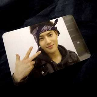 EXO Growl Suho Official Photocard