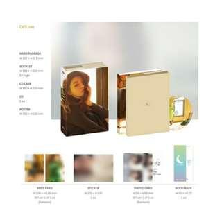 KIM CHUNG HA-Off Set [2nd Mini Album]