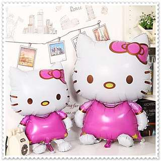 HELLO KITTY Balloons / Foil Balloons / Party Balloons / Theme Party Decor