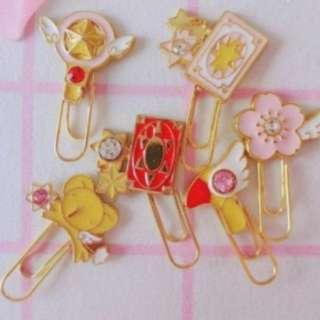 Card Captor Sakura Cute Metal Paper Clip