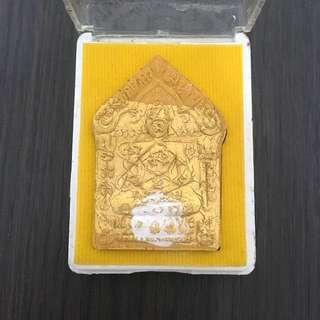 ✳️LP Sakorn 2553 Khun Paen Prai Kuman (w/ Silver & Copper takrut) (3 Pieces Sold❗️Last 2 Pieces Left‼️)