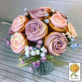 杯子蛋糕花球