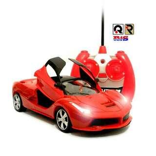 RC mobil Ferrari Pintu Bisa Di Buka Tutup Dengan Remote Control / Mainan Edukasi Anak