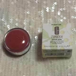 Clinique Sugar Scrub & Lip Balm - 04 Sweet Rose