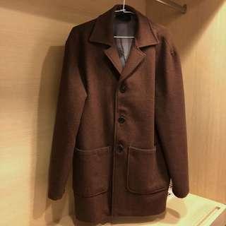 正韓 材質超好的大衣外套