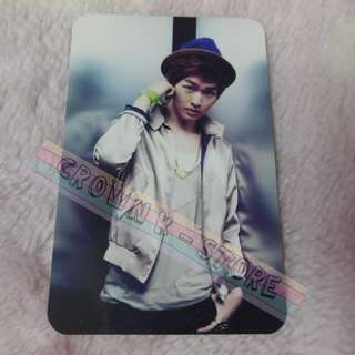 [READY STOCK]SHINEE JAPAN JULIETTE OFFICIAL PHOTO CARD - ONEW NEW!OFFICIAL ORIGINAL FROM JAPAN (PRICE NOT INCLUDE POSTAGE)PLEASE READ DETAILS FOR MORE INFO