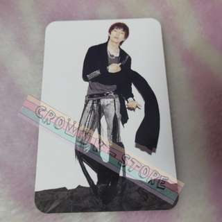 [READY STOCK]SHINEE JAPAN LUCIFER OFFICIAL PHOTO CARD - ONEW NEW!OFFICIAL ORIGINAL FROM JAPAN (PRICE NOT INCLUDE POSTAGE)PLEASE READ DETAILS FOR MORE INFO
