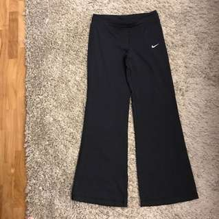 Nike work out flare pants
