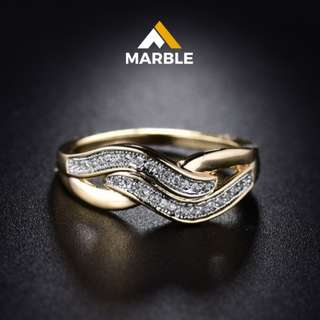50% OFF ROSE GOLD LUXURY RING
