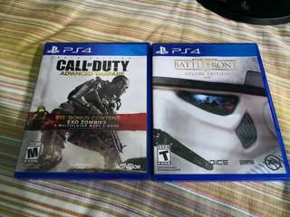 Call of Duty Advance Warfare, Star Wars Battlefront