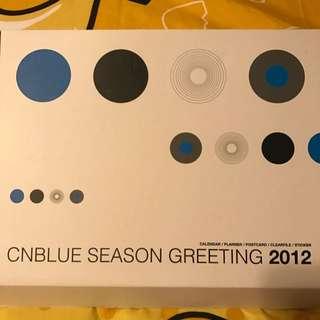 CNBLUE 2012 season greeting
