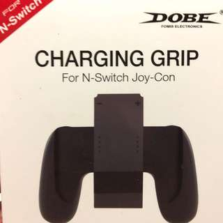Joy con charging grip. Chargeable
