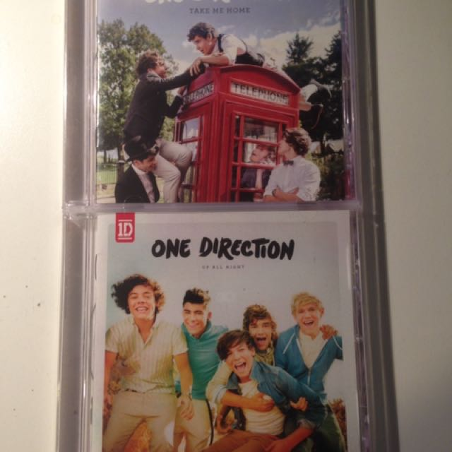 1D Albums - Take Me Home/Up All Night