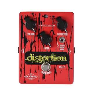 Biyang DS-12 Classic Distortion series Effect Pedal