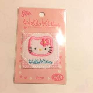Sanrio vintage Hello Kitty 布章