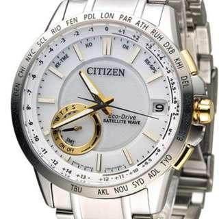 "Citizen Eco-Drive Promaster ""CC3006-58A"" ( 光動能/全球性GPS衛星對時系統/不鏽鋼/萬年曆/防反射塗層藍寶石玻璃錶面/MADE IN JAPAN )(可簽卡/可分期/現金交易優惠)01/09"