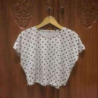 Polkadot Batwing Tshirt