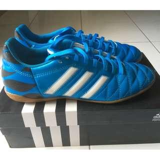 Adidas 11Questra Indoor Football Shoes Men (BLUE)
