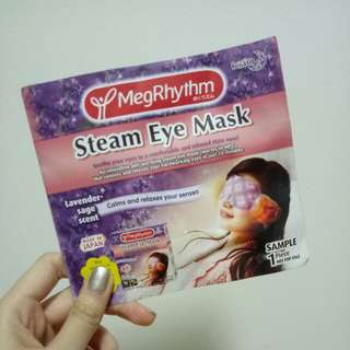 (FREE on my listing) MegRhythm Steam Eye Mask