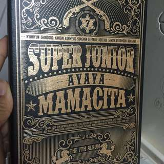 Super junior mamacita a版 & magic (附送海報)