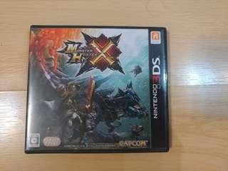 Monster Hunter X MHX 3DS New 3DSLL