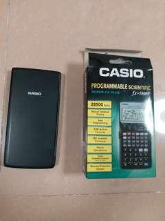 Casio fx5800p計數機
