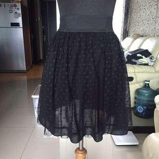 Polkadot tutu skirt