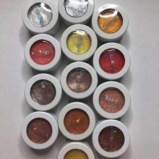 10 Colourpop Super Shock Eyeshadows