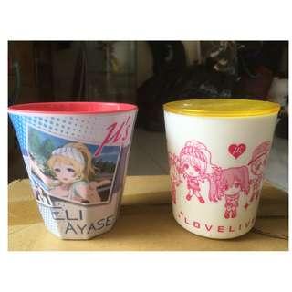 Melamine Cup - Love Live! : Eli Ayase Swimsuit & Love Live! Plastic Cup & Coaster (RIN)