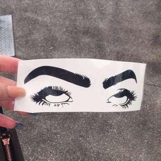Eyeroll Stickers