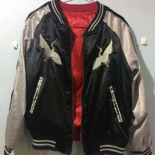 橫須賀緞面外套