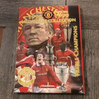 Man U (Manchester United) medallion collection 98 to 99