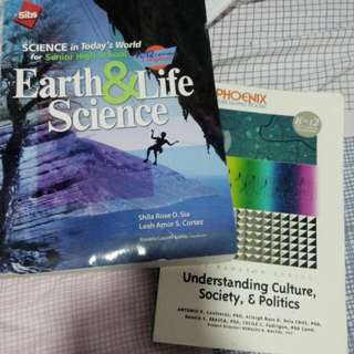 Grade 11 books used(look new)