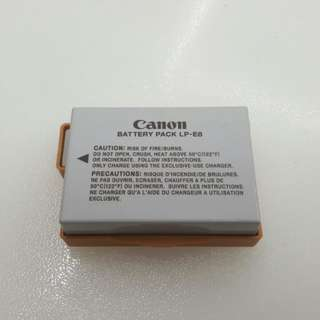 Brand new Canon LP-E8 battery