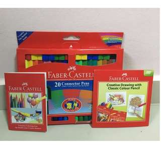 Faber Castell Connector Pens Pack 20