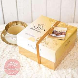 🇺🇸美國直送   ✨GODIVA Assorted Chocolate 27粒禮盒裝🎁   💥$158/盒 (27粒裝)