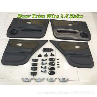 Door Trim Wira Complete Set