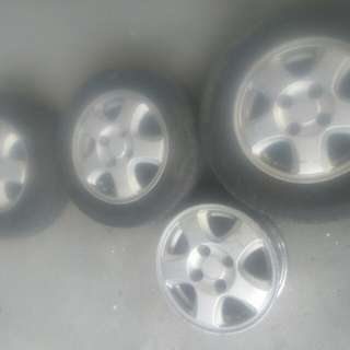 Mags And Tires Size 13""