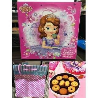 蘇菲亞公主奶油餅乾(附上禮盒袋)