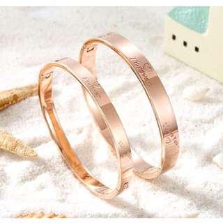 Forever love Bangle Bracelet